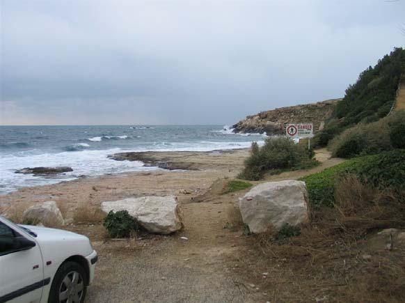 Mise à l'eau impossible de la plage par vent d'est