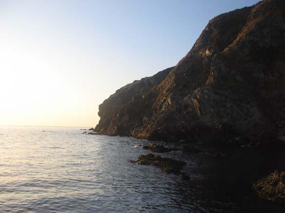 Vue depuis la digue de Port Vendres
