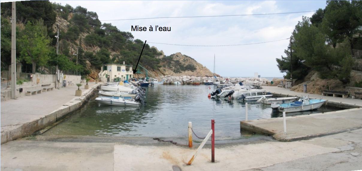 Le port de Grand Méjean