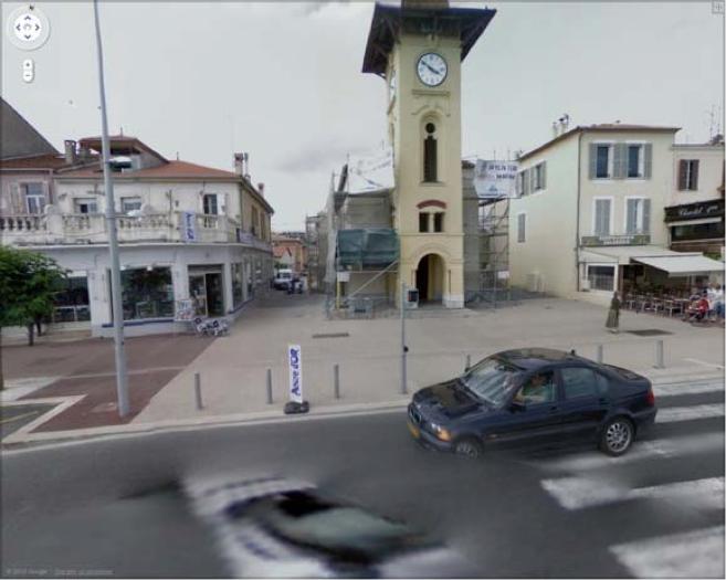 L'église du Cros-de-Cagnes