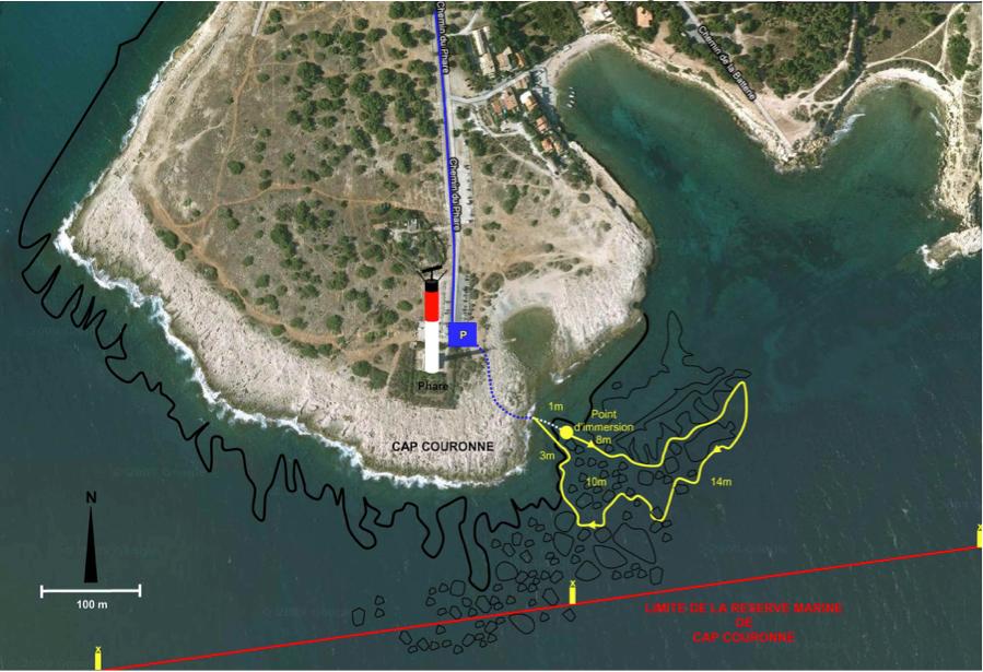 Itinéraire de plongée n°2